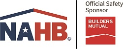 NAHB logo with Builders Mutual Logo